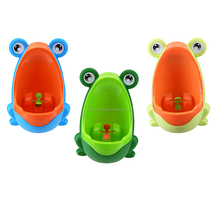 Lovely Frog Children Potty Toilet Training Kids Urinal for Boys /Plastic Baby Urinal Pee Trainer