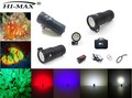 Professional Hi-max UV9 waterproof Scuba Torch 18650 Video Diving Light