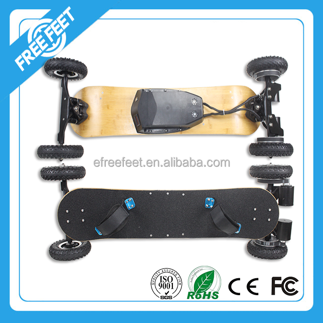 Best price 1650w gas powered skateboards 4 wheel brushless motor electric scooter for kids