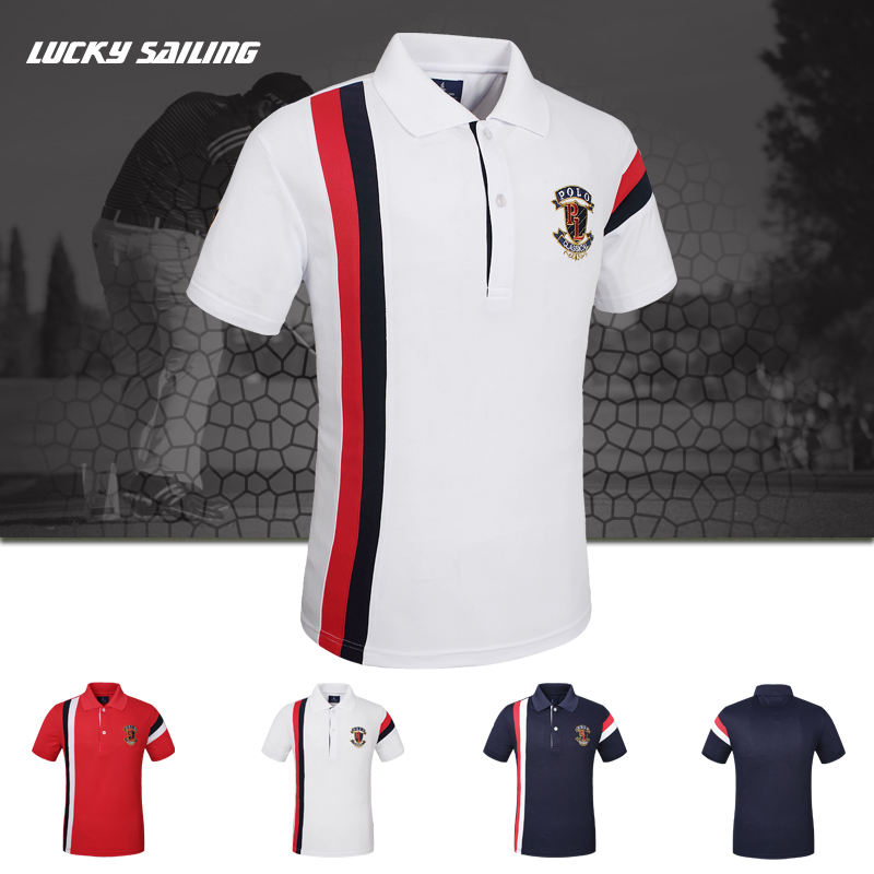 Wholesale Online Shopping Cotton Polyester Polo Shirt Design with Combination