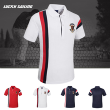 Wholesale Online Shopping Cotton Polyester Polo Shirt <strong>Design</strong> with Combination