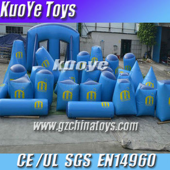 inflatable funny paintball bunkers for sale