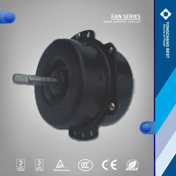 Ac automatic electric motor cooling fan blade