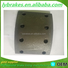 19580 brake lining OE copper rivets brake shoes for sale