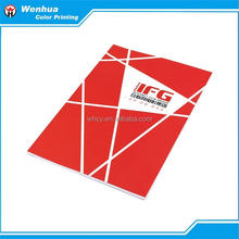 Fast delivery cheap custom presentation folder tri-fold brochure/paper folder printing