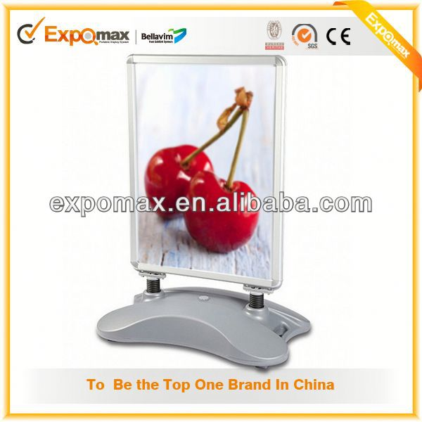 Low Price Integrated with Stand Display Led Poster Writing Board