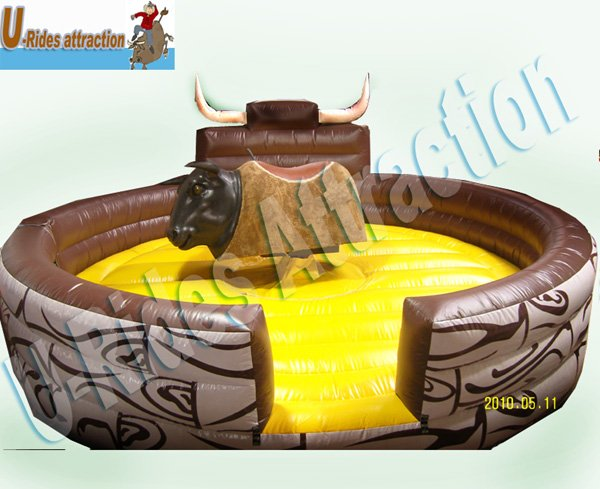 Creative game mechanical bull for sale with CE certification
