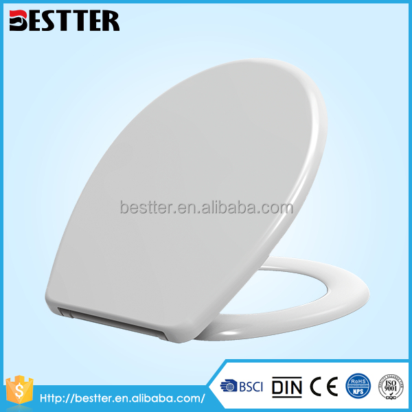 Top quality bathroom duroplast urea hygienic toilet seat lid cover