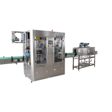China leading manufacturer package machine for sleeve labels on bottle