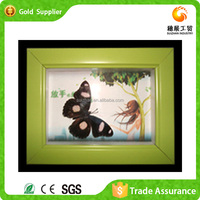 Best Selling Art And Crafts Chinese Supplier PS Photos Frame Decorative Picture