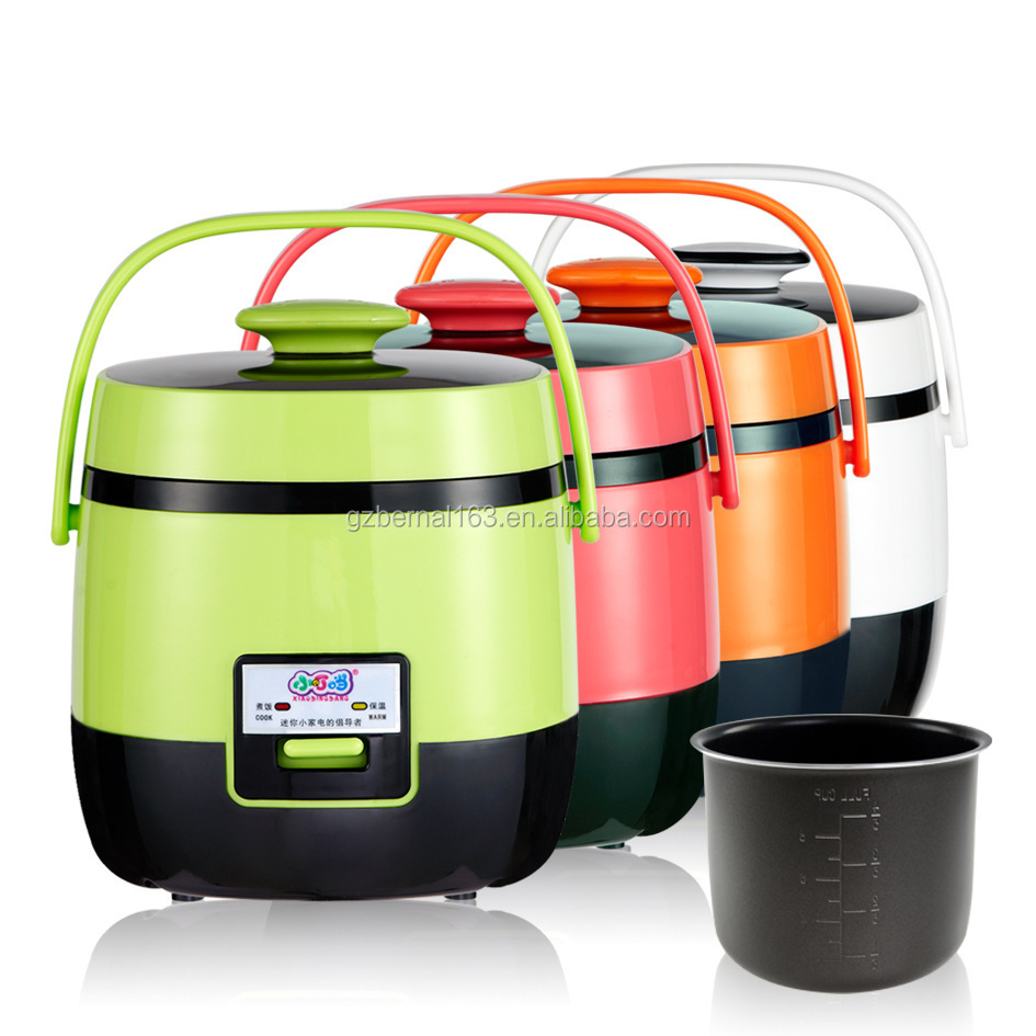 Mini 1.2L l rice cooker with 4 different color,rice cooker,mini rice cooker,