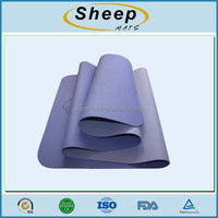 high quality tpe fitness eco yoga mat with bag