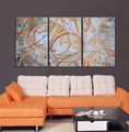 Modern abstract canvas oil painting for decor