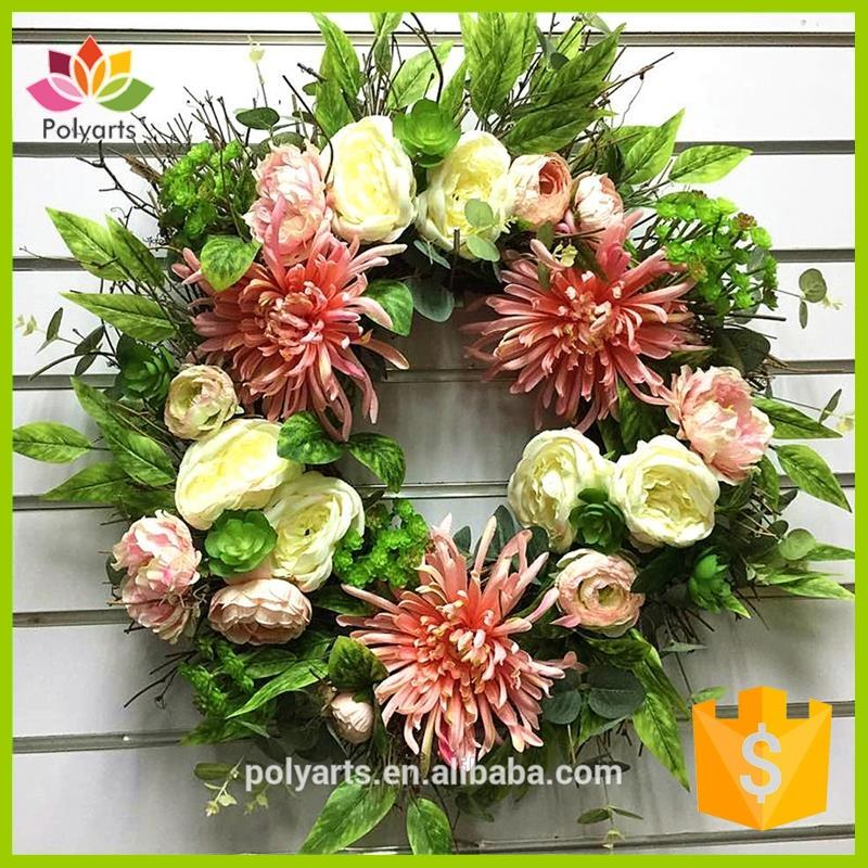 New arrival grapevine wreath decorative wreath spring wreath with low price
