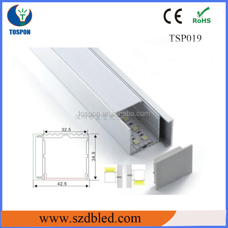 aluminum profiles insect screen for led strip