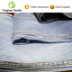 Fine texture indigo cotton stripe denim garment fabric in rolls