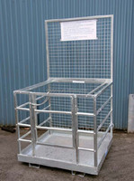 WP-N Work Platform for forklift truck collapsible