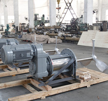 Low Viscosity with Impellers agitators,stainless steel tank with side entry prop agitators
