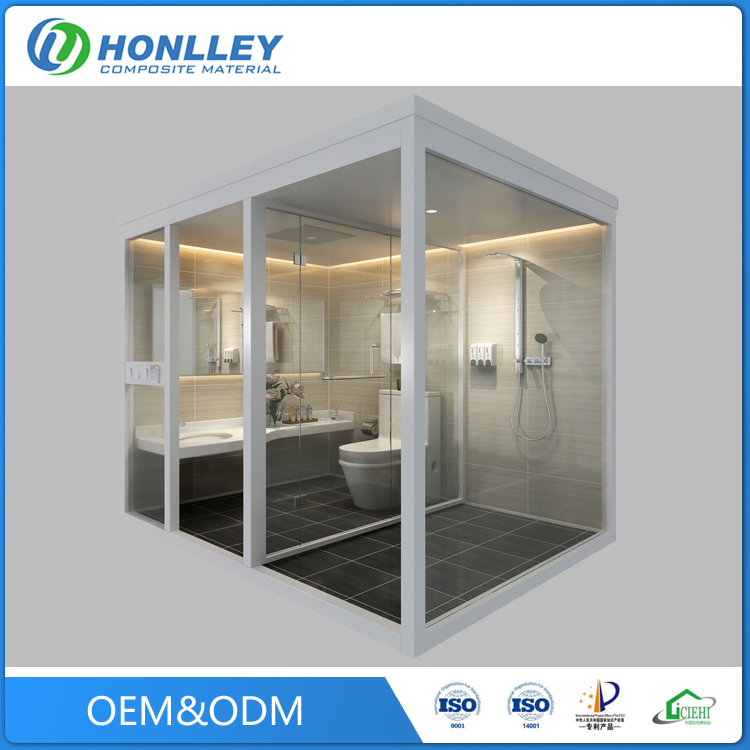 Best quality promotional enclosed shower room cubicles price