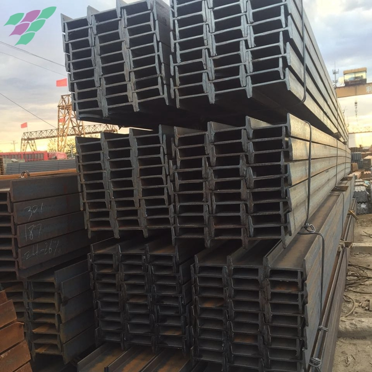 Alibaba chinese manufacturer i section steel beam to nigeria for project construction