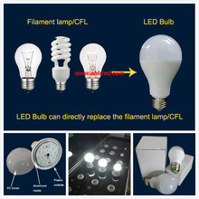 China wholesale best lumen 5w E27 B22 LED light bulb