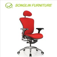 IDEAL (SL-A2) Fabric/Mesh Wire Control High Back Office Chair