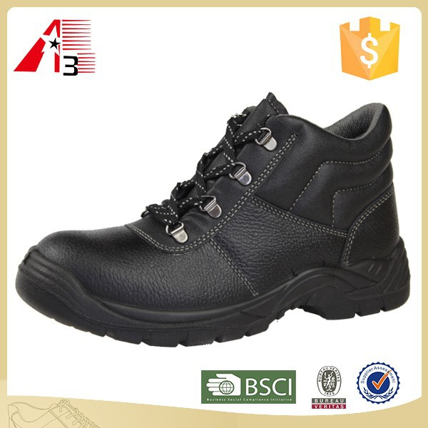 China high quality factory steel toe safety boots