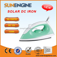 SL-100T 12V DC Electric Solar Iron -150W Temperature Adjustable China TOP 1 12V DC Electric IRON Appliance Manufacturer
