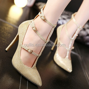 2016 beautiful ladies long sexy dresses high heels sandal PE3949