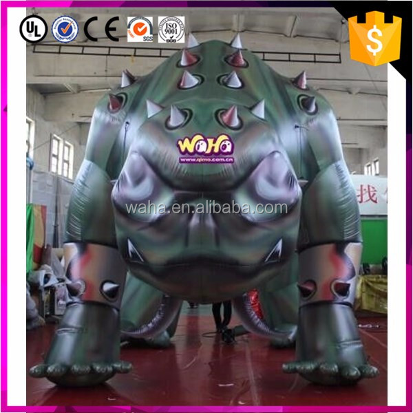 Custom Inflatable Cartoon Character,Inflatable Moving Cartoon Mascot