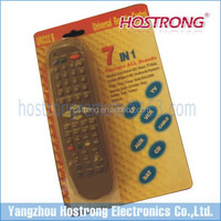 EUROPEAN MARKET ONE FOR ALL URC22B 7IN1 UNIVERSAL REMOTE CONTROL