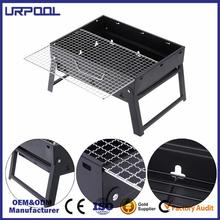 folding bbq stove bbq mesh grill/ oven cooking mesh camping charcoal bbq grill stand