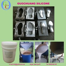 High quality liquid RTV silicone rubber molding silicone for shoe sole mold making