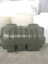 HDPE septic tank,1-9m3,2 or 3 chambers available