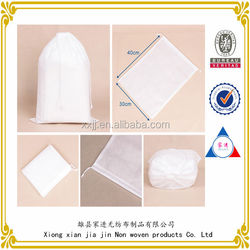 china supplier hot sales fabric drawstring bag