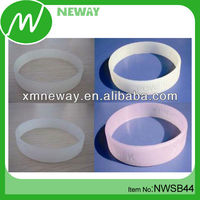 With temperature silicone color change bracelet