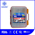 Large First Aid Kit with wall amounted 326 Pieces Exceeds OSHA and ANSI Guidelines