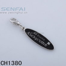 Yiwu custom lucky cloth stashe pendant black men nfl charms