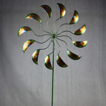 Star Base garden decor vendor metal windmill garden spiral stake