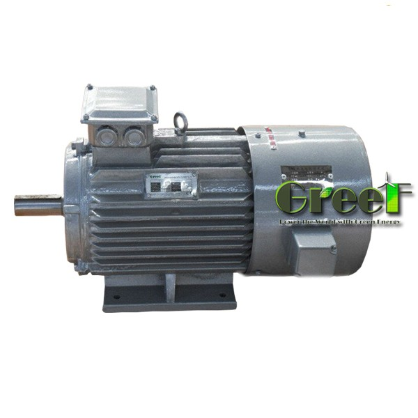 9KW 500RPM Maintenance Free / Wind Turbine / Three Phase AC Permanent Magnet Generator