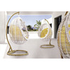 wicker egg shaped chair hanging egg chair