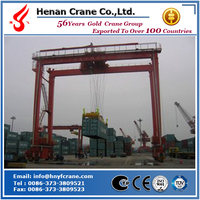 New condition rail mounted container gantry crane lift panama container