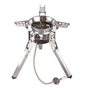 6800W Strong Power High Quality Burner Portable Foldable Outdoor Camping Gas Stove For Travel
