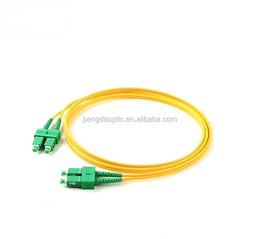 OEM Factory Fiber Jumper High Quality SC/LC/FC/ST Fiber Optic Patch cord For FTTx
