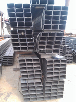10x10-500x500mm Q345B high strength black square tube
