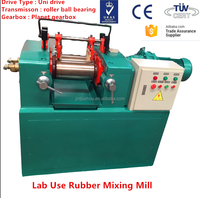 CE Certification Two Rolls Type Rubber Refiner Mixing Mill And Reclaimed Rubber Machinery XK-160
