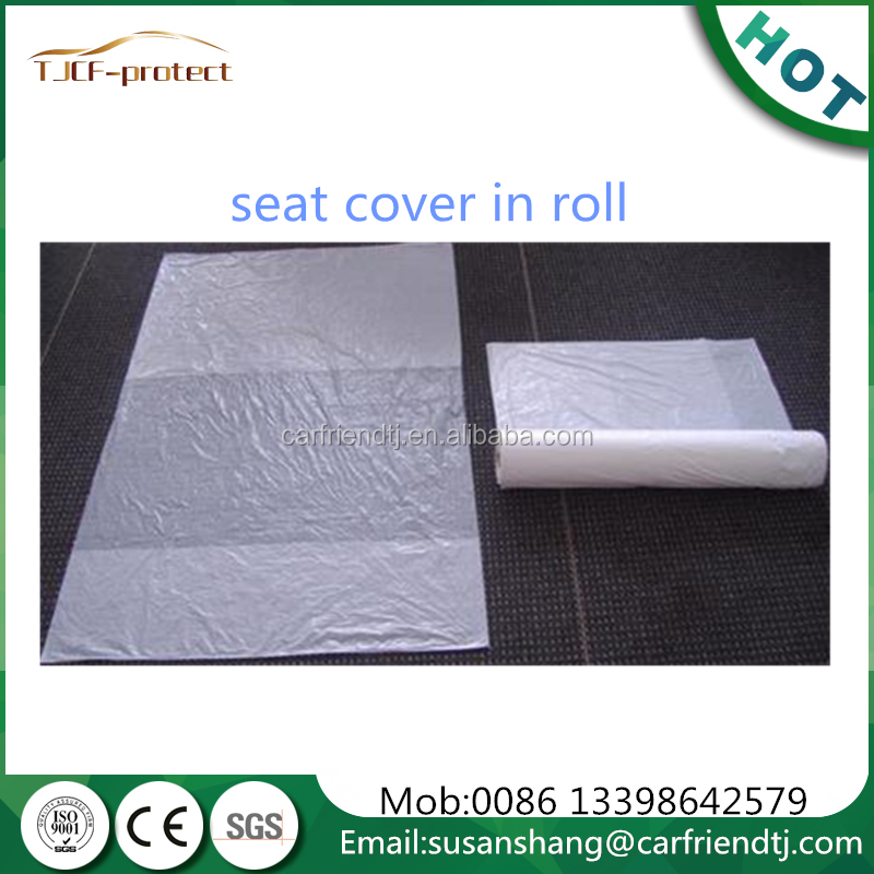 plastic auto seat cover car detailing plastic products made in China
