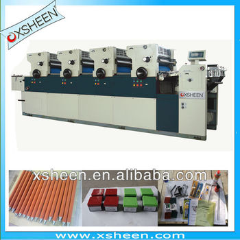 7 rotary four colors offset printer ,4 colors offset press, automatic offset printing machineXH447 /XH456