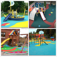 EPDM Children Safety Play Area Surfacing (FL-A-72807)