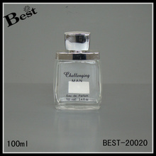 100ml 3.4fl oz glass perfume bottle design your own fancy perfume bottle